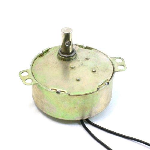 Centrifuga Eje Transmisión 2 Cables Conector Motor Síncrono AC 220-240V 5/6r/minuto