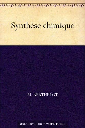 Couverture du livre Synthèse chimique