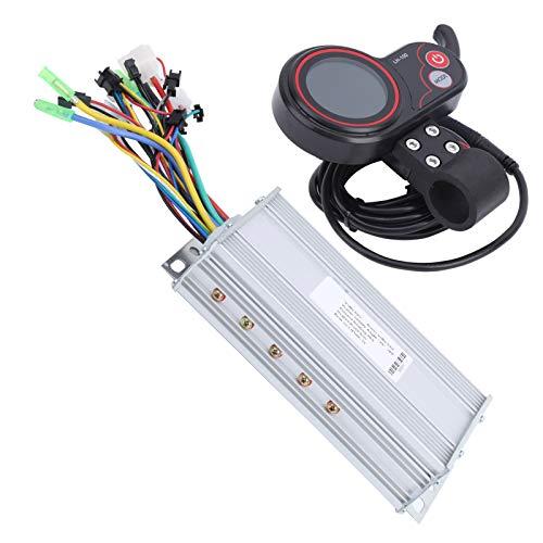Resistente al desgaste robusto duradero controlador LCD pulgar Shifter eléctrico Scooter Motor Controlador para entretenimiento en casa para entrenamiento competición (1000W)