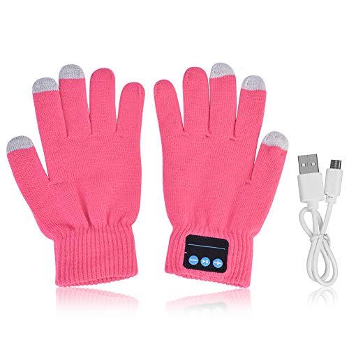 Zerone Bluetooth Knit Hut 4.1 Beheizbare Handschuhe mit Mikrofon für Hände