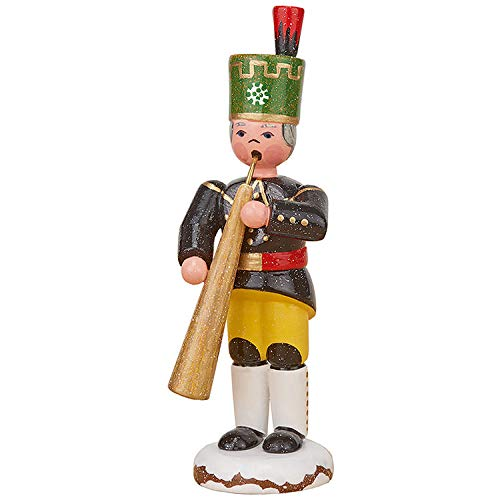 Authentique allemand Erzgebirge anges en bois Hubrig Volkskunst Advent /étoiles 13cm // 5inch