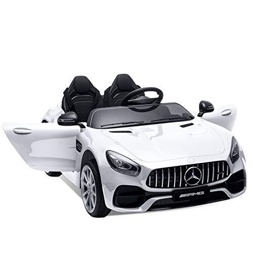 Lernonl Electric Cars for Kids 12v Mercedes Benz AMG 2 Seater Battery...