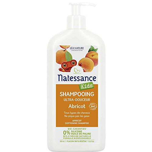 Natessance Kids Shampooing Haute Tolérance Abricot...