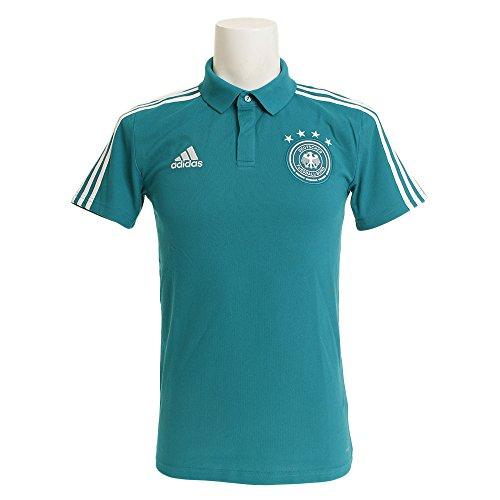 adidas Herren DFB Cotton Polo Poloshirt, EQT Green s16/White, S