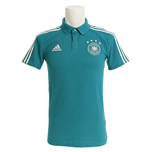 adidas Herren DFB CO Polo Poloshirt, EQT Green/White, M