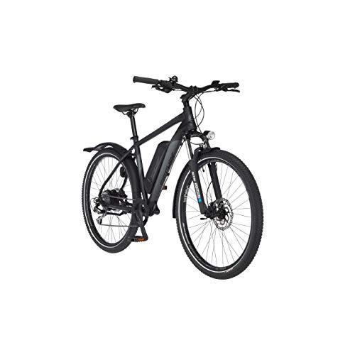 FISCHER E-Bike ATB Terra 2.0, Elektrofahrrad, graphitschwarz matt, 27,5 Zoll, RH 48 cm, Hinterradmotor 45 Nm, 48 V/557 Wh Akku