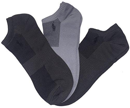 Polo Ralph Lauren 3 pares de calcetines deportivos técnicos ultraligeros para hombre - Gris - talla única