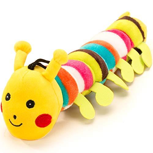 Hipidog 犬のおもちゃ 音の出る ぬいぐるみ おもちゃ かわいい キャタピー