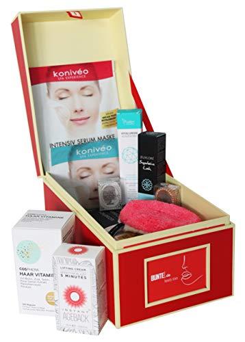 BUNTE.de Beauty Box gefüllt mit Luxusprodukten – Warenwert über 240€ – Limitiertes Geschenkset für Frauen – Nur Bestseller Beauty Produkte – Hochwertige Inhaltsstoffe – Empfehlung der Beauty Redaktion