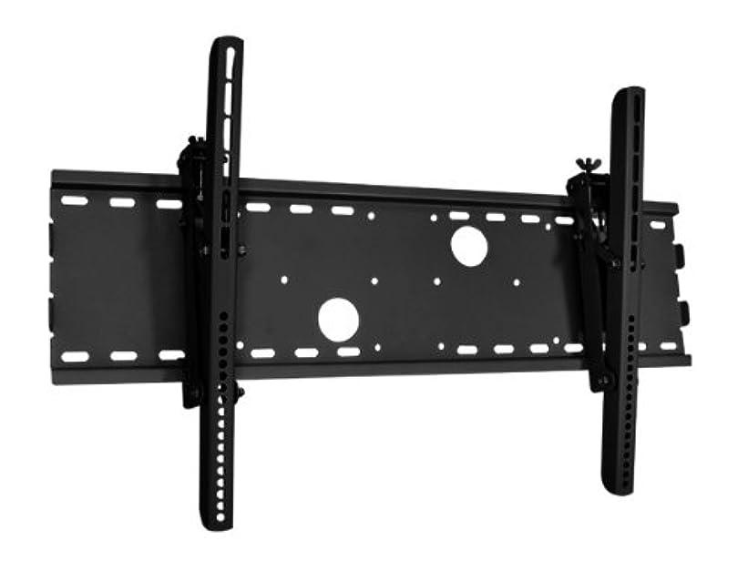不振かなり博覧会ブラック調節可能な角度調整/ tiltinging壁マウントブラケットfor Maxent mx-42hpm20プラズマ42?