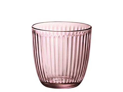 Bormioli Rocco & Figlio- Line - Vasos de agua, multicolor, BOR1238, 6 unidades