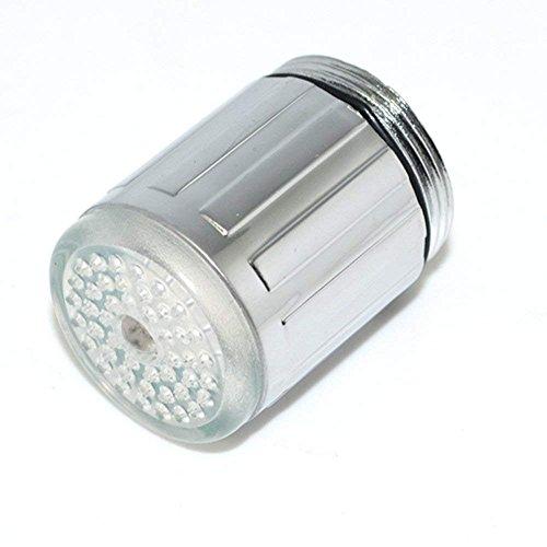 Demarkt 7Cambio de color para grifo LED para grifo para baño lavabo grifo de cocina Universal Modelo