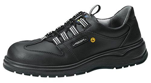 ABEBA 7131138 X-LIGHT ESD Schuh mit Lace, O2, FO, SRC, Schwarz, Größe 44