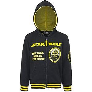 Star Wars Niños Sudadera con Capucha y Cremallera Completa 22