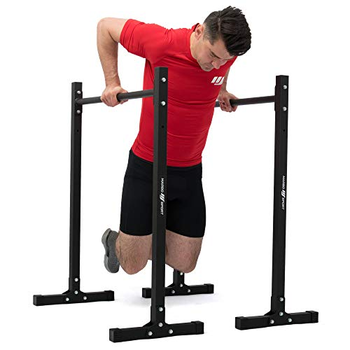 Marbo Sport Dipstation Dip Stand Estación Dipper Chin Up MH-D011