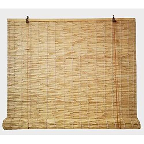 Natürlicher Schilfvorhang, der zur UV-Abschirmung im Teehaus/Restaurant/Balkon/Pavillon verwendet wird, mit Lifter, Größe kann angepasst werden/A / 130×230cm