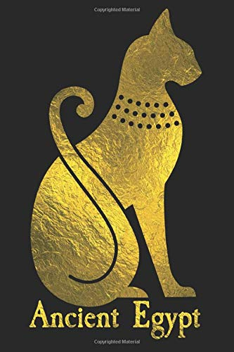 Ancient Egypt: Journal for Archaeologists or History Students; Bastet Cat Goddess gift idea