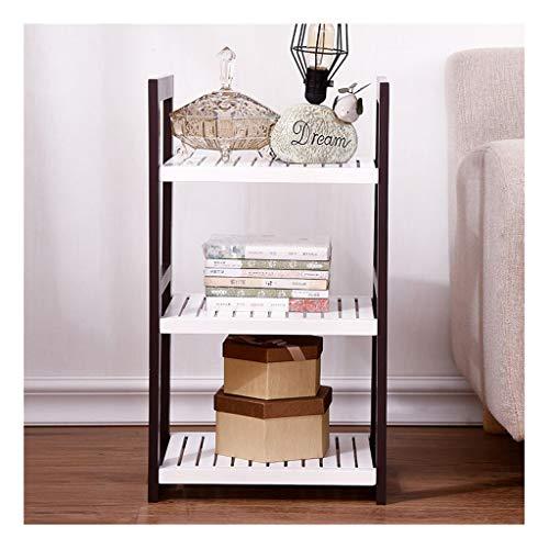 Bloemenstandaard, massief hout eenvoudige keuken badkamer opslag rek vloer meubels plank