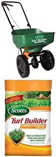 Scotts Turf Builder Mini Spreader & SummerGuard Lawn Food Bundle