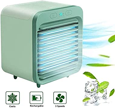 TLMM 2020 Portable USB Rechargeable Water-Cooled Air Conditioner Can be Used Outdoors