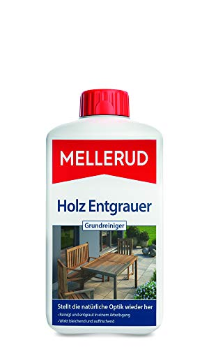 Mellerud 2001002756 Holz Entgrauer Grundreiniger 1 L