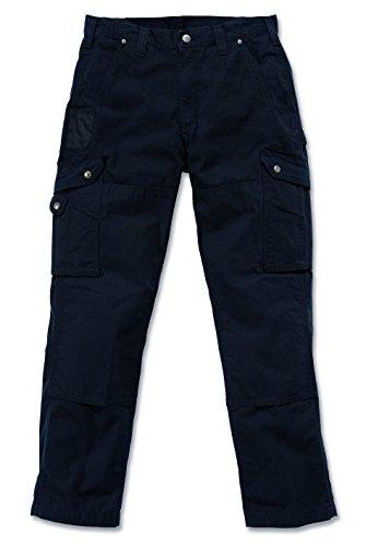 Carhartt-Pantalón para hombre, de tela ripstop de algodón, corte informal Negro 30/34