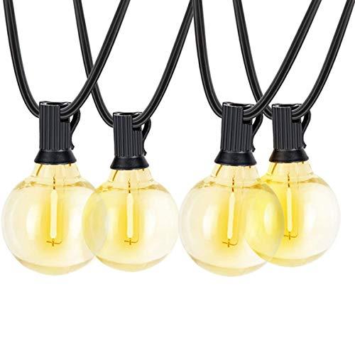 3W USB LED Light String, G40 Flame Bulb,220V- 240V Led Bulb, Bedroom Kitchen Indoor LED Light, for Living Room for Bedroom KTV Hotel Corridor(25 Pcs)