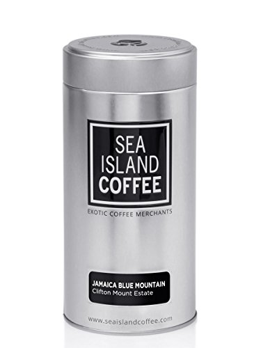 Clifton Mount Estate, Jamaica Blue Mountain - Cafetiere Grind Coffee (4.4 Oz Tin)