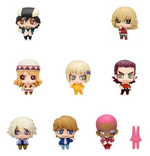 Tiger & Bunny: Today's Hero Chara Fortune Plus Trading Figure - Display of 10 (japan import)