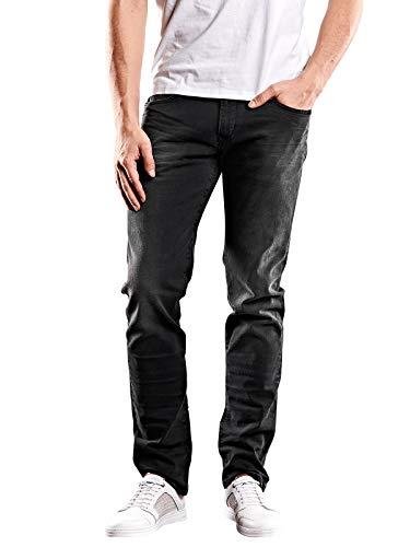 emilio adani Herren Jeans Classic Straight, 28247, Grau in Größe 38/34