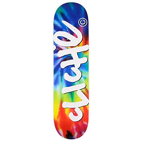 Cliché Skateboard Deck Handwritten Tie Dye RHM 8.125