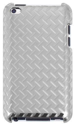 QDOS QD-540-ST Funda Plata funda para mp3/mp4 - Fundas para mp3/mp4 (Funda, Plata, Apple, iPod Touch 4, Resistente al polvo, Resistente a rayones, 8,89 cm (3.5'))