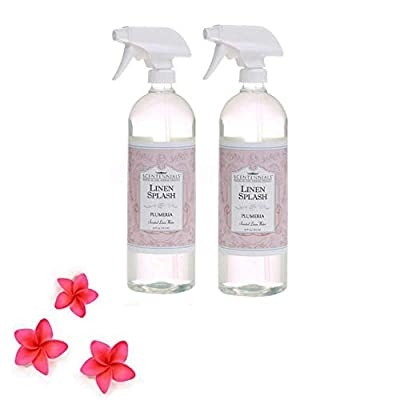 Scentennials Plumeria Linen Spray 32oz (2-Pack) - A Must Have for All Your linens, Laundry Basket or just Spray Around The House.