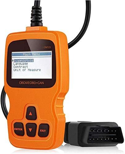 Instrument voor de diagnose van voertuigfouten, CAN-diagnose-tester voor alle OBD2-protocollen OBD2-scanner voor auto's OBD-lezer verbeterde universele foutcode-lezer voor automotoren