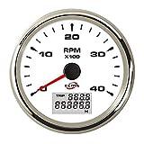SJ-GPS Speedometer Duradero Tacómetro de 4000 RPM Digital/camión/Motor generador Ligero