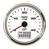 4000RPM デジタル/トラック/エンジン発電機タコメーター ダイオード 測定 テスター 小型