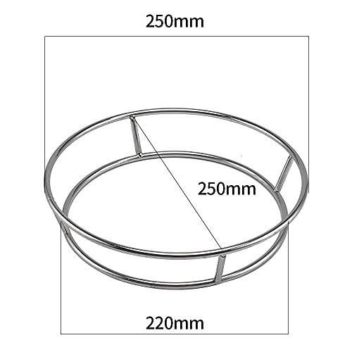 Super leader Wok Ring,Wok Rack de acero inoxidable para ollas aisladas, anillo de utensilios de cocina, accesorios de wok para cocina