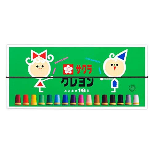 16 couleurs Sakura Couleur crayons Futoshimaki (japon importation)