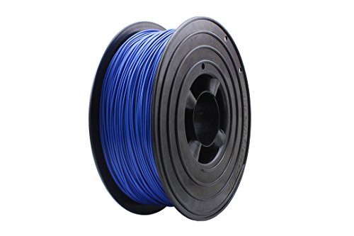 OWL-Filaments 3D Drucker 1kg Filament Rolle PLA 1.75mm 1000g Spule Made in Gemany Premium Qualität (PLA 1,75mm, Blau)