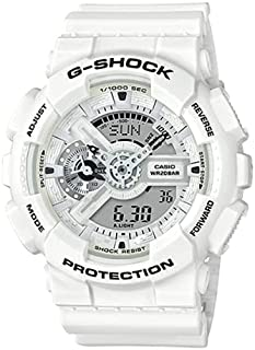 ساعة كاسيو جي شوك - AL AHLI FC إصدار خاص GA-110MW-7ADR-AL-AHLI