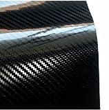 Vinilo 100 X 150 cm, Diseño de Carbono 5D Car WRAPPING Coche Moto EXTRA Brillante Excelente Calidad.