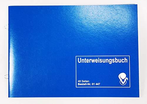 VLV 01447 - Unterweisungsbuch für den betrieblichen Unfallschutz Unfallverhütung und Arbeitsschutz - Ringösenbindung zum Abheften