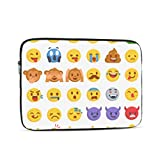 Macbook 2018 Case Cartoon Collection Set Emoticons Different A1706 Macbook Pro Case Multi-Color & Size Choices10/12/13/15/17 Inch Computer Tablet Briefcase Carrying Bag