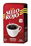 Café Sello Rojo Premium Colombian Coffee | Smooth & Flavorful | Low Acidity, No Bitter Aftertaste | 100% Colombian Medium Roast Ground Coffee | Café de Colombia | 16 Ounce (Pack of 1)