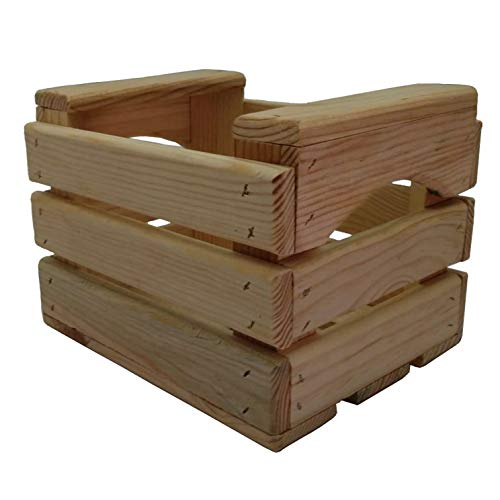 En Maderas - Caja de Almacenamiento, Caja decoración, Caja de Fruta (23x18x17 cm)