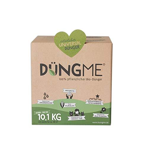 DÜNGME Bio Universaldünger mit Langzeitwirkung, 100% pflanzlich & Bio, Pflanzendünger, für kräftiges Pflanzenwachstum, unbedenklich für Kinder & Haustiere, Naturdünger für gesunde Böden, 10,1kg