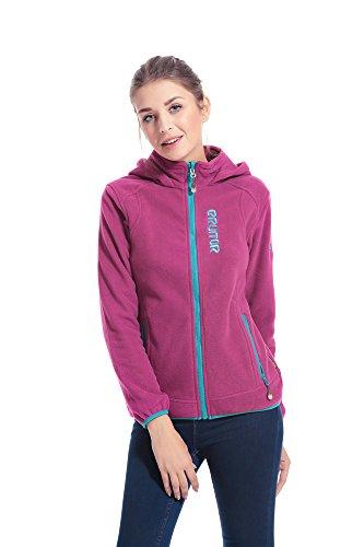 ERUITOR Women Full-Zip Jacket Windbreaker