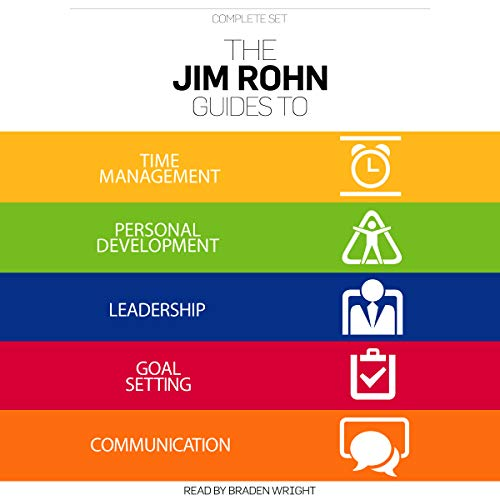 Page de couverture de The Jim Rohn Guides Complete Set