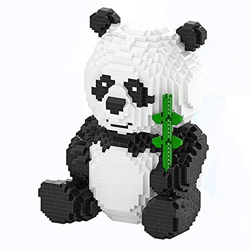 SKAJOWID Panda Bloques Mini creador de Bloques DIY Assemable China Precioso de construcción Modelo de Animal Educativo 2444 Piezas Ladrillos Juguetes para niños