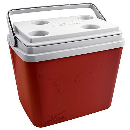 Caixa Térmica POP Vermelha Com Alça 34L - INVICTA
